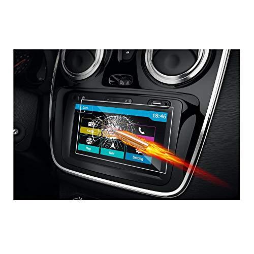 RUIYA Protector de pantalla de vidrio templado Dacia Media N