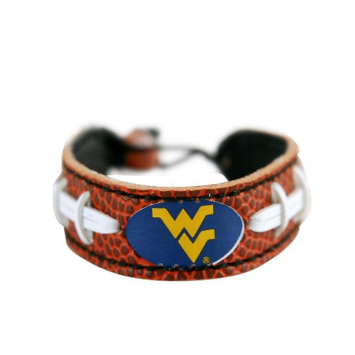 GameWear Unisex CB-cfb-oks Oklahoma Sooners Classic Football Bracelet, Unisex, CB-CFB-WEM, West Virginia Mountaineers