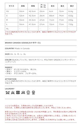 [カナダグース]CANADAGOOSEギャルソンベストGARSONVESTダウンベストメンズ2020秋冬4151MXXL/MILITARY-GREEN