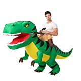 Spooktacular Creations Inflatable Halloween Costume Ride A T-Rex Ride On Inflatable Costume - Adult One Size Unisex