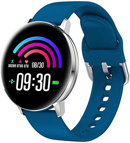 Smart Watch 1 pantalla a color de 3 pulgadas elegante inteligente sedentario sueño información recordatorio salud Tracker desgaste diario/púrpura-azul