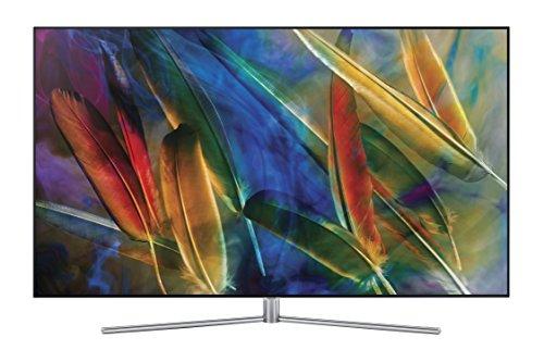 Televisor QLED 2017 de 55' UHD 4K Plano Serie Q7F, HDR 1500, Control One Remote Premium, One Connect + Cable Invisible