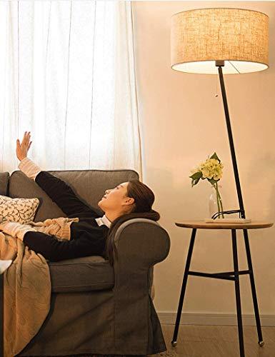 Lámparas de pie Amos Sala de Estar Moderna Minimalista Habitación de Hotel de Estilo Europeo con lámpara de mesita de Noche