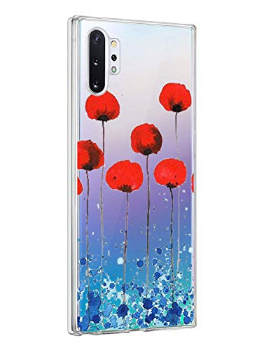 Oihxse ersatz für Galaxy Note 10 Hülle,Galaxy Note 10 Hülle Weiche Ultra Dünn Handyhülle Slim Silikon TPU Transparent Gel Soft Clear Kratzfeste Stoßfest Premium Schutzhülle (6B)
