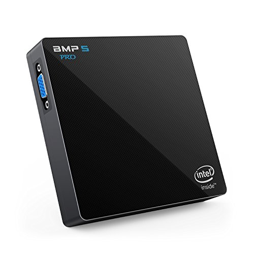 Bqeel BMP5 Pro Mini PC soporta Windows 10 Home / Procesador Intel Apollo Lake N3450 / 4 GB DDR3 + 64 GB / Intel HD Graphics 500 / 4K / 1000 Mbps LAN / Dual-Band WiFi con Bluetooth 4.0 / USB 3.0