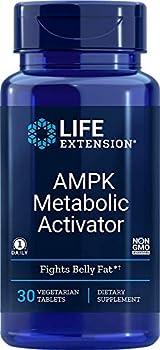 Life Extension AMPK Metabolic Activator 30 Vegetarian Tablets