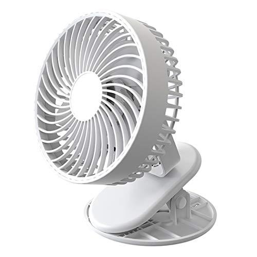Fascigirl Ventilador con Clip Recargable Ligero Seguro Silencioso Profesional Ventilador De Oficina Hombre