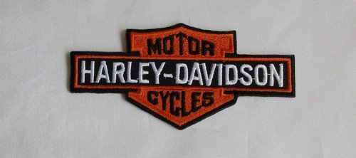 Article Be the next day Shipping. Harley Davidson aufbügler 15 x 11 cm is also for sewing.Shipping to France and England 4 - 6 days