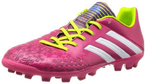 Adidas P Absolado LZ TRX AG - Botas de fútbol para Hombre, Color Rosa/Blanco/limón, Talla 41.3