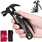 Multitool Hammer,All in One Survival Camping Gear Cool Gadgets Tools Stocking Stuffers Men Unique Anniversary Christmas Birthday Gift Ideas for Boyfriend Father/Dad Him