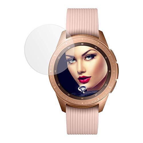 mtb more energy Proteggi Schermo in Vetro temperato per Samsung Galaxy Watch 42mm (SM-R810.) - Gear S2 (SM-R710.) - Gear Sport (SM-R600) - 2.5D - Pellicola Protettiva Salvaschermo Vetrino