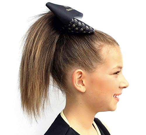Cheerleader Straight Ponytail Hairpiece for Girls and Teens (Sunflower)