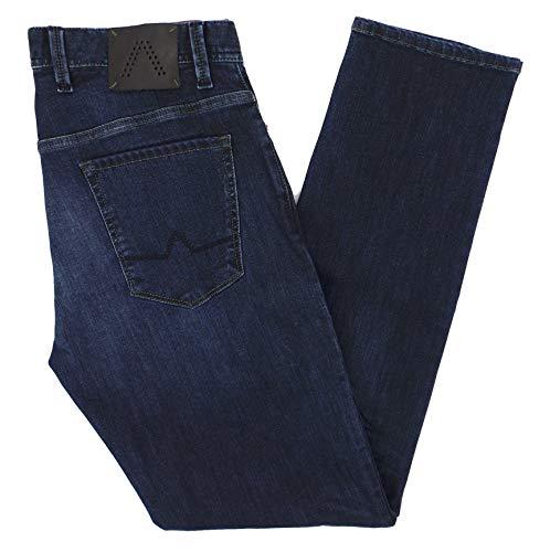 ALBERTO Herren Jeans Pipe Regular Slim fit Dynamic Superfit 32/34