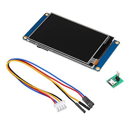 Nextion NX4832T035 3,5 Zoll Bildschirm 480 x 320 HMI TFT LCD Touch Modul Resistent Display für Raspberry Pi 3 und Arduino Kit