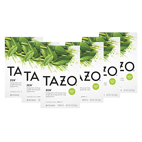 4. Tazo – Zen Green Tea