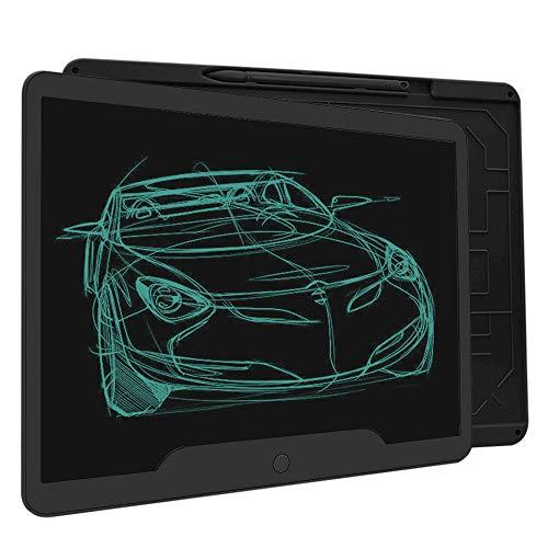 Richgv LCD Schreibtafel, 15 Zoll LCD Writing Tablet, Löschbare Elektronische Digitale Zeichenblock Doodle Board, Geschenk für Kinder Erwachsene Home School Office (Schwarz)…