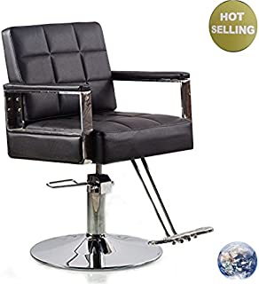SevenStar Hairdressing Chair for Salon Hair Styling Cutting Makeup with Oil pump