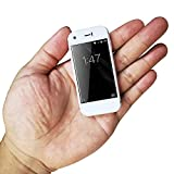 Ytwtech Mini Smartphone, 3G Dual SIM 2.4 Inch Mobile Phone 1G+8G 5.0MP High Definition Child Phones Unlocked Pocket Backup Cellphone (White)