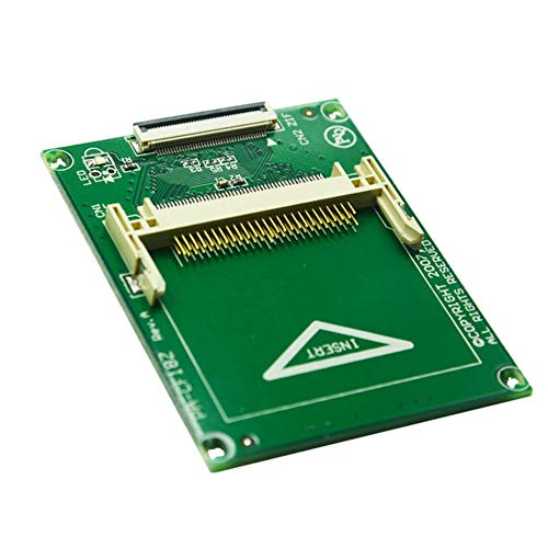 hudiemm0B CF Adapter Card, 50 Pin Compact Flash CF to 1.8Inch ZIF/CE Hard Drive Adapter Card Converter