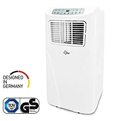 Mobiles lokales Klimagerät Impuls 2.0+ | Räume bis 25 qm | Kühler und Entfeuchter | 7.000 BTU/h | Suntec Wellness