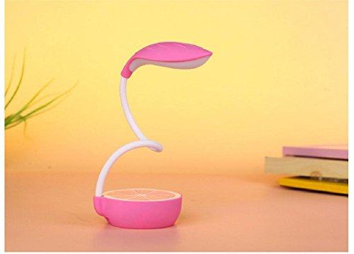 Lampes de bureau Lampe de Table Citron USB de charge conduit à une Protection oculaire pliante lampe de bureau , pink