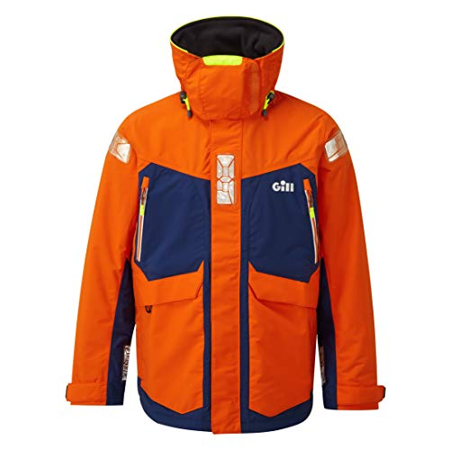 Gill OS24JTXL Offshore-Jacke, Farbe: Tango, Größe: XL