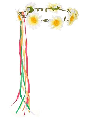 Couronne de fleurs - Taille Unique