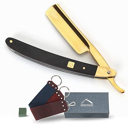straight razor kit 3 in 1 best shaving razor for men with strop