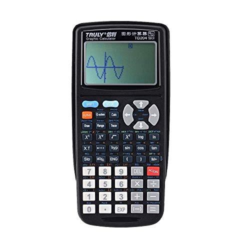 HYBUKDP Standard-Taschenrechner Wissenschaftliche Grafikprogrammierung Rechner Batterie Computer for Testzeichnungen Kommerzielle Standardfunktion Tischrechner