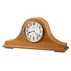 Howard Miller Echo Mantel-Clocks, Golden Oak