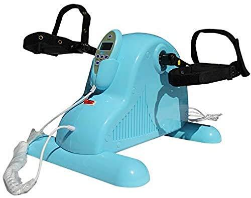 JFFFFWI Peddler Exerciser - Ejercitador de piernas para Mejorar la circulación y la Movilidad, Reducir Las molestias en Las articulaciones, el Dolor y el cansancio en Las piernas, Almacenamiento com