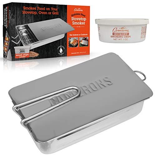 Camerons Products CMS Caja para ahumar accesorio de barbacoa/grill - Accesorios de barbacoa/grill (177,8 mm, 279,4 mm, 88,9 mm, 1,36 kg)
