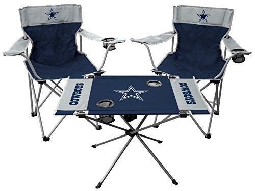 Rawlings NFL Dallas Cowboys Tailgate Kit, Team Color, One Size Dallas Cowboys Tailgate Table