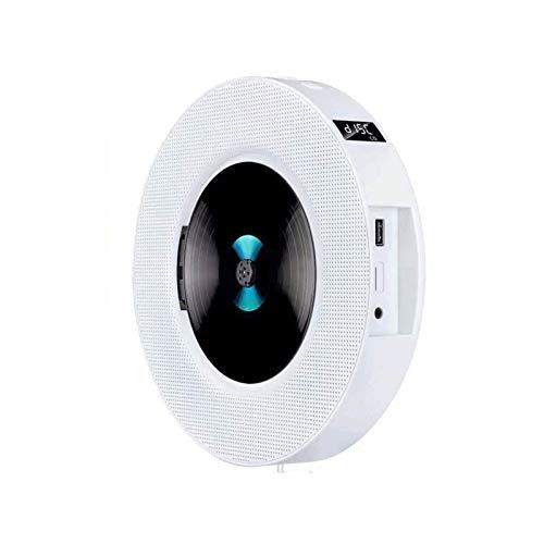 Adesign Batería Recargable de Reproductor de CD portátil, con Pantalla LED, repetición Educación para la Primera Infancia Educación prenatal Bluetooth CD Player para el hogar