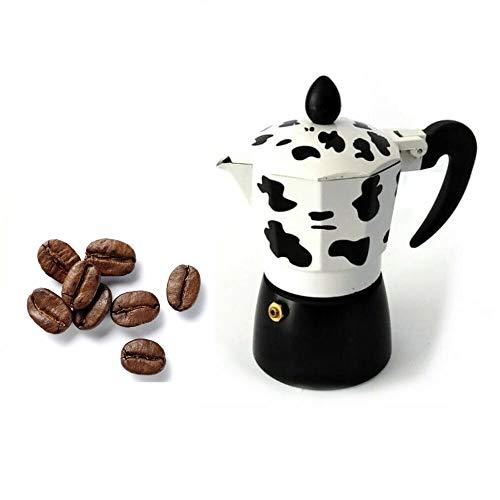 FAST WORLD SHOPPING ® Mukka - Cafetera de 6 tazas para cafetera expreso Moka Express