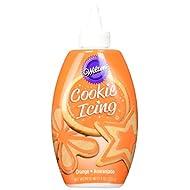 Wilton 704-0145 Orange Cookie Icing, 9-Ounce