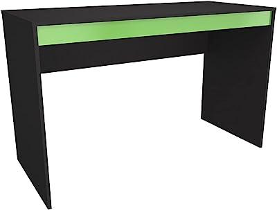 Mesa Escrivaninha Gamer B23 - Preto/Verde