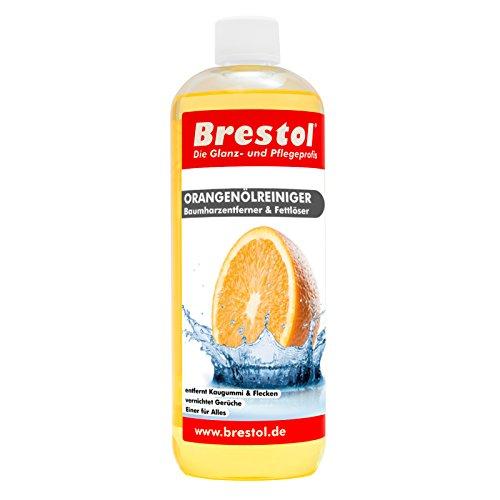 Brestol sinaasappeloliereiniger 1000 ml - universele reiniger vet olie kauwgom boomhars verwijderaar boomharsverwijderaar geurneutraliseerd