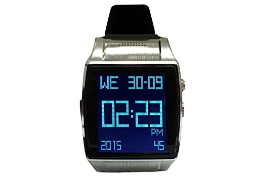 Linsay Executive Smartwatch 1.5u0022 - Silver/Black