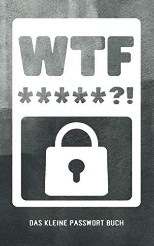 Das Kleine Passwort Buch: offline alle Internet Logins, Handy Pins und Codes von digitalen Geräten und analogen Produkten organisieren und verwalten   ... selber gestalten   12.7 x 20.3 cm   66 Seiten