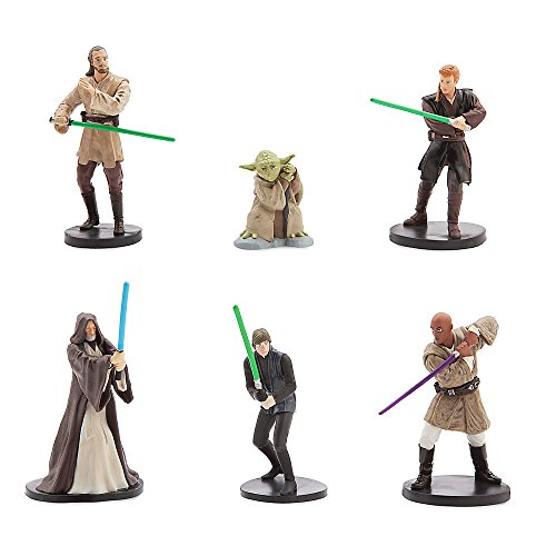Star Wars Offizielle Disney 6 Jedi Figurine Playset