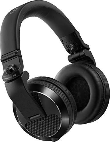 Pioneer DJ HDJ-X7-K Professioneller DJ-Kopfhörer, Schwarz