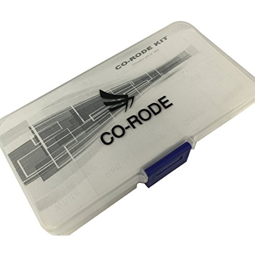 CO RODE 300 Pieces LED Diode, 5mm LED, 3mm LED Kit with Color White Red Blue Green Yellow (5 Colors)