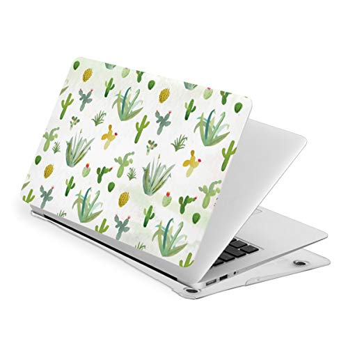 Cactus Plant Green Laptop Cover Protective Case MacBook 13 Air is Suitable A1466 A1369 MacBook New Air13 is Suitable A1932. MacBook 15 Touch is Suitable A1707 A1990