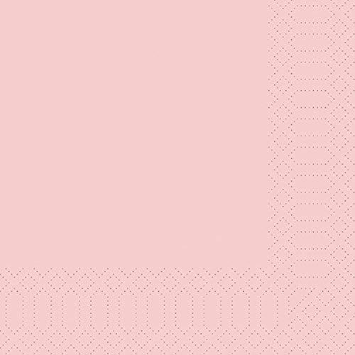 Duni Zelltuch Servietten Mellow Rose 40x40 cm 1/4 Falz 250 Stück