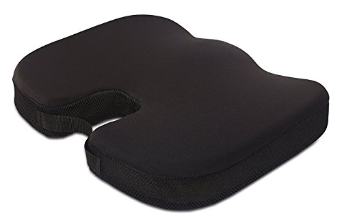 Medical Seat Cushion, Office Chair Coccyx Cushion (Certified Foam Firm Pillow)