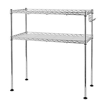 3-Tier Kitchen Cabinet Organizer Kitchen Microw...
