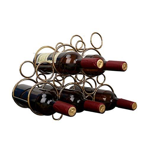 LBYSK Display Vino Piano Bar Custodia Mobili Vino Rack Wine Rack Multi-Tier Wine Organizer Multifunzionale della Tazza del Vino Rack Indipendente