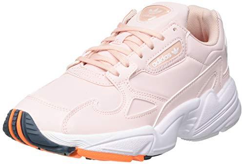 adidas Originals Womens Falcon Sneaker, Vapour Pink/Signal Orange/Legacy Blue,39 1/3 EU