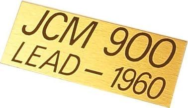 Original Marshall JCM 900 Lead Plate